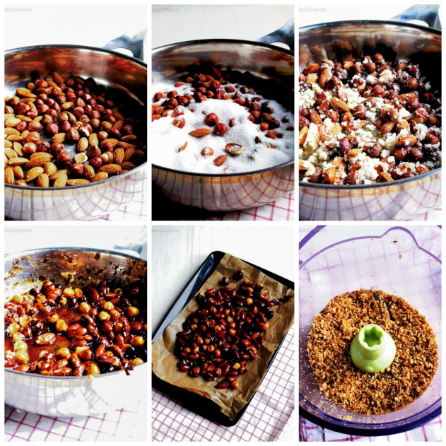 How to make the praline paste